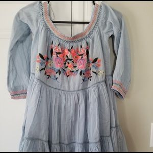 🌺Free People Smocked Tunic